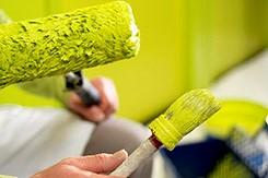 Финишная отделка поверхностей, нанесение окрасочных составов.